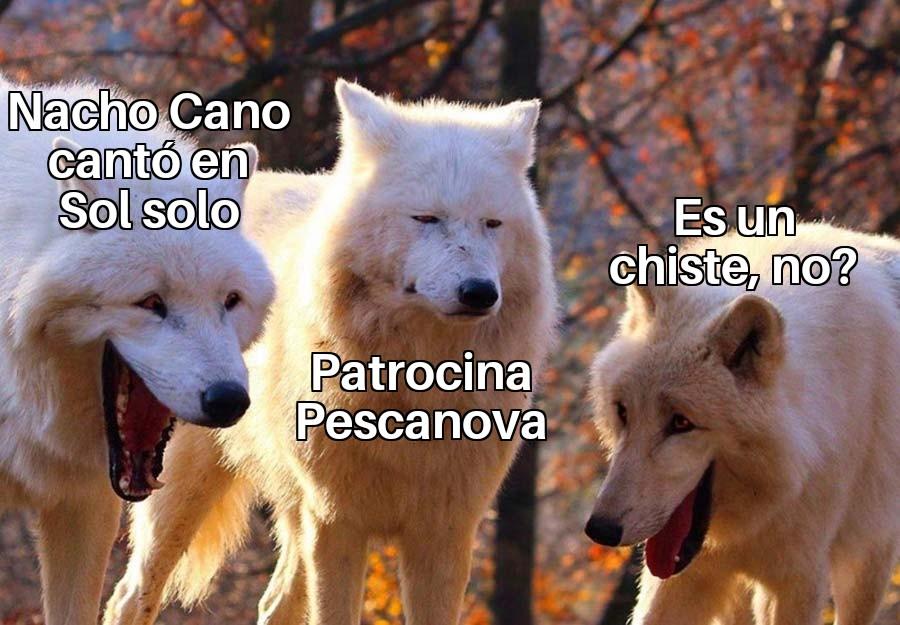 meme lobos nacho cano