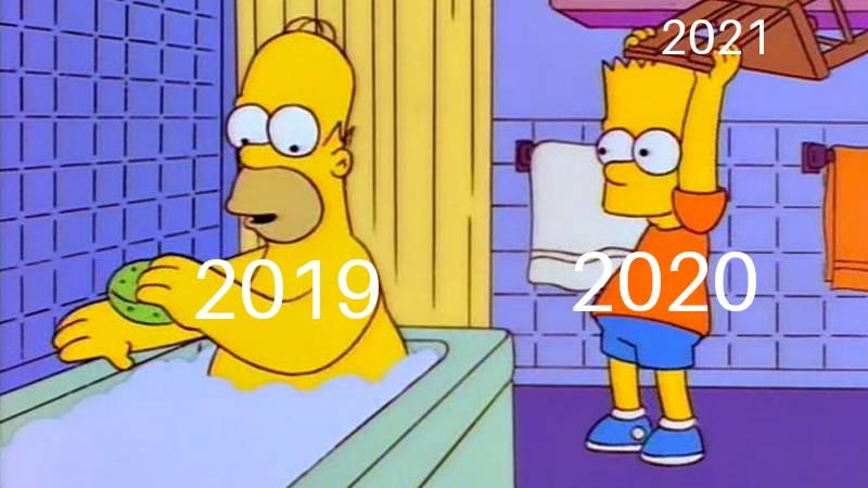 meme simpson 2021