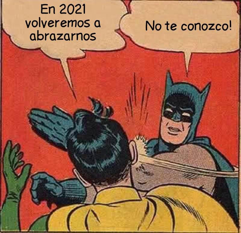 meme batman y robin 2021