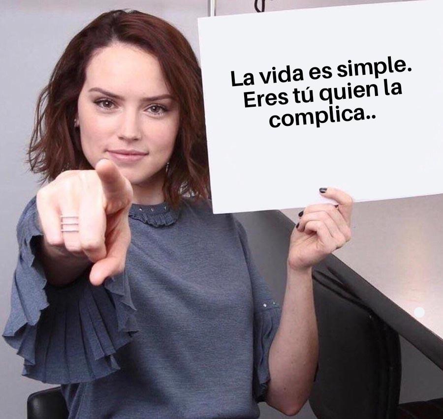 vida simple meme